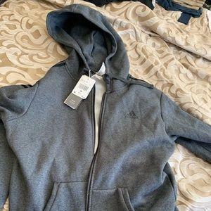 Adidas full zip up hoodie